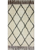RugStudio presents Nuloom Hand Knotted Moroccan With Tassle Natural Hand-Knotted, Good Quality Area Rug