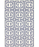 RugStudio presents Nuloom Flatweave Dasher Navy Flat-Woven Area Rug