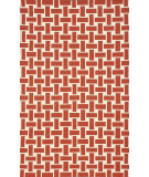 RugStudio presents Nuloom Flatweave Mod Houndstooth Red Flat-Woven Area Rug