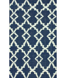 RugStudio presents Nuloom Flatweave Evan Navy Blue Flat-Woven Area Rug