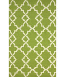 RugStudio presents Nuloom Flatweave Evan Green Flat-Woven Area Rug