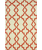 RugStudio presents Nuloom Flatweave Evan Rust Flat-Woven Area Rug