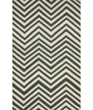RugStudio presents Nuloom Flatweave Simon Chevron Grey Flat-Woven Area Rug