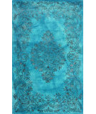 RugStudio presents Nuloom Hand Tufted Oceania Blue Hand-Tufted, Good Quality Area Rug