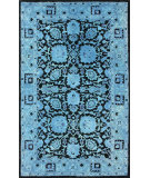 RugStudio presents Nuloom Hand Tufted Ramona Overdyed Style Blue Hand-Tufted, Good Quality Area Rug