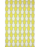 RugStudio presents Nuloom Flatwoven Trina Yellow Flat-Woven Area Rug