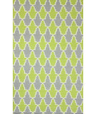 RugStudio presents Nuloom Flatwoven Trina Green Flat-Woven Area Rug