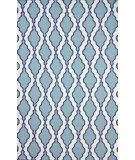 RugStudio presents Nuloom Flatwoven Tracey Blue Flat-Woven Area Rug