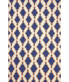 RugStudio presents Nuloom Flatwoven Tracey Navy Flat-Woven Area Rug