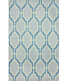 RugStudio presents Nuloom Hand Tufted Dita Light Blue Hand-Tufted, Good Quality Area Rug