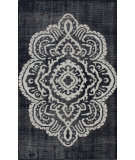 RugStudio presents Nuloom Hand Knotted Alicia Navy Hand-Knotted, Good Quality Area Rug