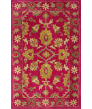 RugStudio presents Nuloom Hand Tufted Vita Overdyed Style Fuschia Hand-Tufted, Good Quality Area Rug