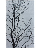 RugStudio presents Nuloom Maison Tree Branches Grey Hand-Tufted, Good Quality Area Rug