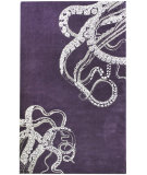 RugStudio presents Nuloom Maison Octopus Tail Purple Hand-Tufted, Good Quality Area Rug