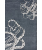 RugStudio presents Nuloom Hand Tufted Tentacles Midnight Hand-Tufted, Good Quality Area Rug