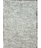RugStudio presents Nuloom Hand Made Silas Leather Shag White Area Rug