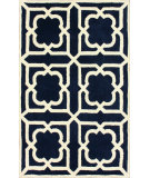RugStudio presents Nuloom Hand Tufted Voila Navy Hand-Tufted, Good Quality Area Rug
