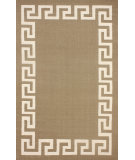 RugStudio presents Nuloom Flatweave Flatweave Border Scroll Brown Flat-Woven Area Rug
