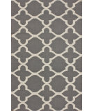 RugStudio presents Nuloom Flatweave Muffy Grey Flat-Woven Area Rug