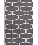 RugStudio presents Nuloom Flatweave Martini Grey Flat-Woven Area Rug
