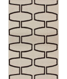 RugStudio presents Nuloom Flatweave Martini Cream Flat-Woven Area Rug