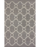 RugStudio presents Nuloom Flatweave Oasis Grey Flat-Woven Area Rug