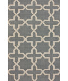 RugStudio presents Nuloom Hand Tufted Ordu Trellis Grey Hand-Tufted, Good Quality Area Rug