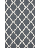 RugStudio presents Rugstudio Sample Sale 104445R Charcoal Hand-Hooked Area Rug