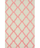RugStudio presents Nuloom Trellis Moroccan Shag Bubble Gum Hand-Tufted, Good Quality Area Rug