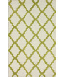 RugStudio presents Nuloom Trellis Moroccan Shag Green Hand-Tufted, Good Quality Area Rug