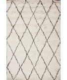 RugStudio presents Nuloom Hand Made Marrakech Shag Ivory Area Rug