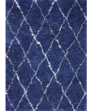 RugStudio presents Nuloom Hand Made Marrakech Shag Navy Area Rug