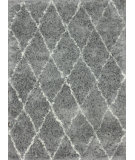 RugStudio presents Nuloom Hand Made Marrakech Shag Grey Area Rug