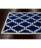 RugStudio presents Nuloom Trellis Bold Blue Hand-Tufted, Good Quality Area Rug