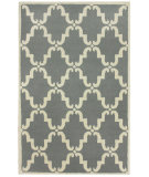RugStudio presents Nuloom Trellis Bold Grey Hand-Tufted, Good Quality Area Rug