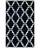 RugStudio presents Nuloom Hand Tufted Bold Trellis Navy Hand-Tufted, Good Quality Area Rug