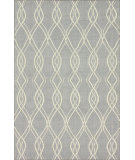 RugStudio presents Nuloom Flatweave Vinezia Grey Flat-Woven Area Rug