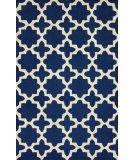 RugStudio presents Nuloom Hand Tufted Dalilah Navy Hand-Tufted, Good Quality Area Rug