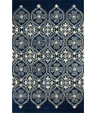 RugStudio presents Nuloom Hand Tufted Adah Trellis Royal Blue Hand-Tufted, Good Quality Area Rug