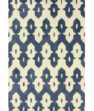 RugStudio presents Nuloom Hand Tufted Piazza Cobalt Blue Hand-Tufted, Good Quality Area Rug