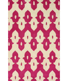 RugStudio presents Nuloom Hand Tufted Piazza Pink Hand-Tufted, Good Quality Area Rug