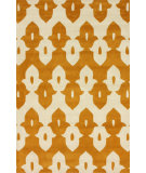 RugStudio presents Nuloom Hand Tufted Piazza Mustard Hand-Tufted, Good Quality Area Rug