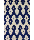 RugStudio presents Nuloom Hand Tufted Piazza Royal Blue Hand-Tufted, Good Quality Area Rug