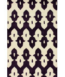 RugStudio presents Nuloom Hand Tufted Piazza Purple Hand-Tufted, Good Quality Area Rug