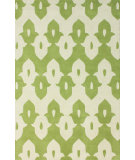 RugStudio presents Nuloom Hand Tufted Piazza Green Hand-Tufted, Good Quality Area Rug