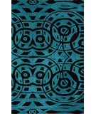 RugStudio presents Nuloom Hand Tufted Willa Turquoise Hand-Tufted, Good Quality Area Rug
