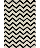 RugStudio presents Nuloom Hand Tufted Swanky Chevron Ivory Hand-Tufted, Good Quality Area Rug