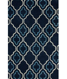 RugStudio presents Nuloom Hand Tufted Piazza Navy Hand-Tufted, Good Quality Area Rug