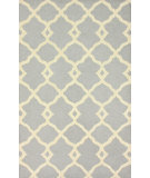 RugStudio presents Nuloom Hand Tufted Tara Slate Blue Hand-Tufted, Good Quality Area Rug