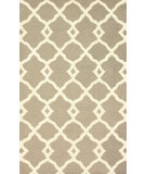 RugStudio presents Nuloom Hand Tufted Tara Greyish Tan Hand-Tufted, Good Quality Area Rug